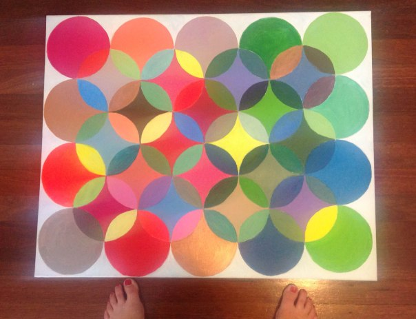 circles painting_floorboards