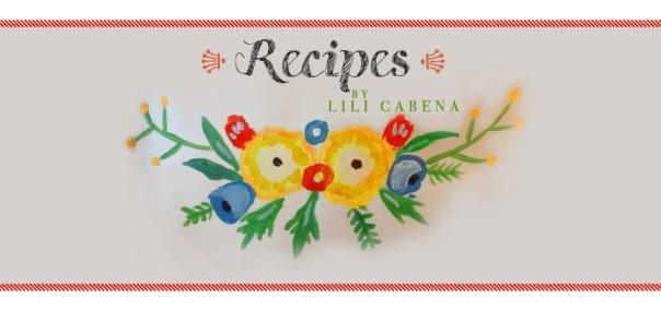 Lili Cabena Recipes